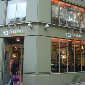 13 table sp cialit s culinaires 34 rue de rivoli for 13 a table paris