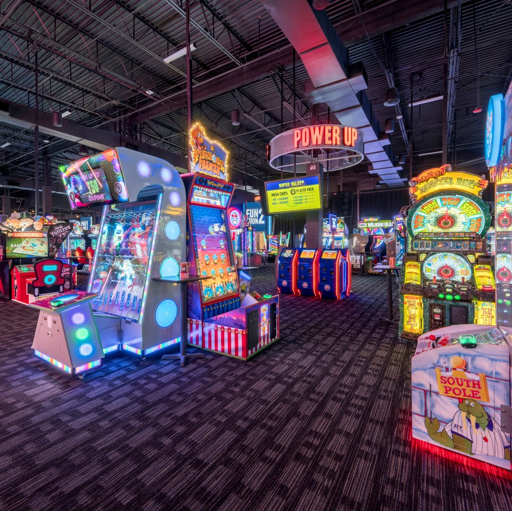 Dave & Buster's: 10900 Bass Pro Pkwy, Little Rock, AR