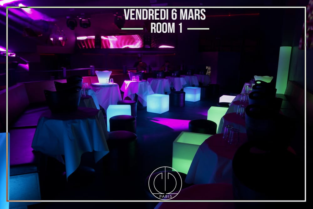 Photo de O2 Club - Paris, France. Room 1
