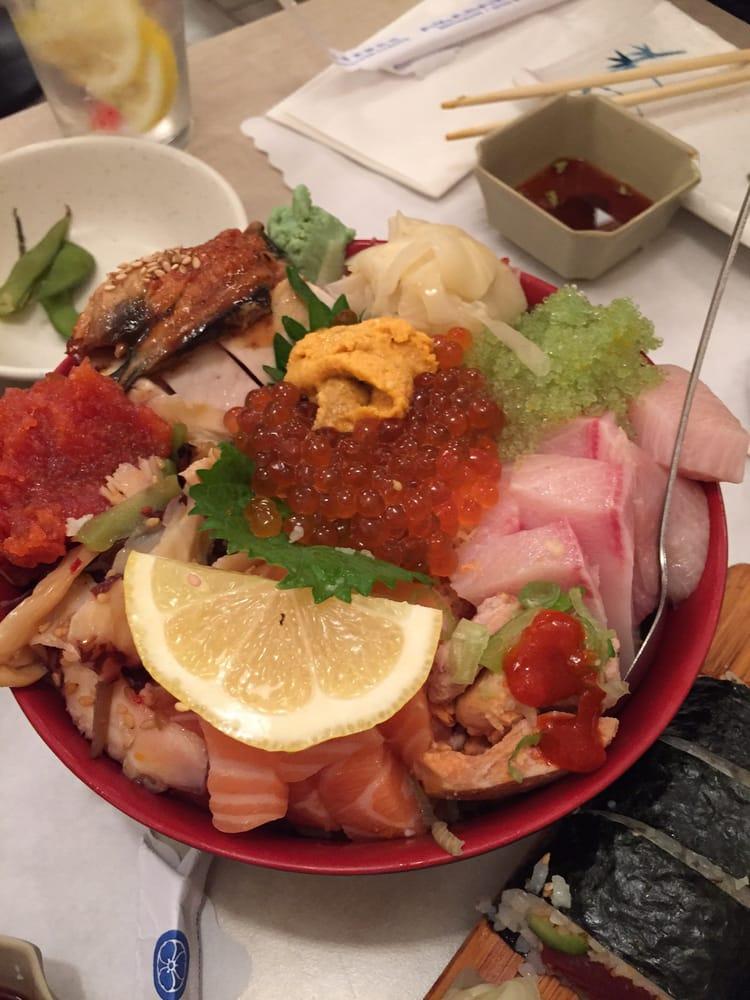Two bowls omg yelp for Akasaka japanese cuisine
