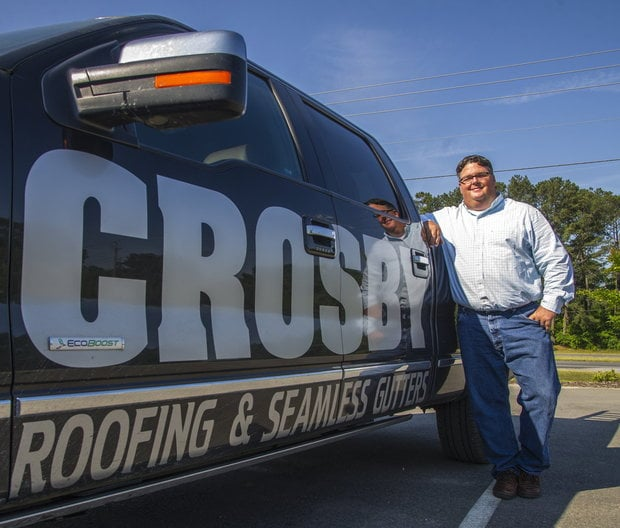 Crosby Roofing & Seamless Gutters: 7628 Hawkinsvill Rd, Macon, GA
