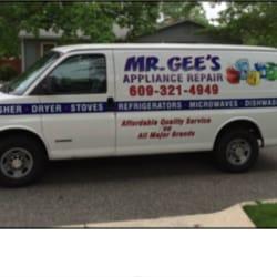 Mr Gee S Appliance Repair Appliances Amp Repair Egg