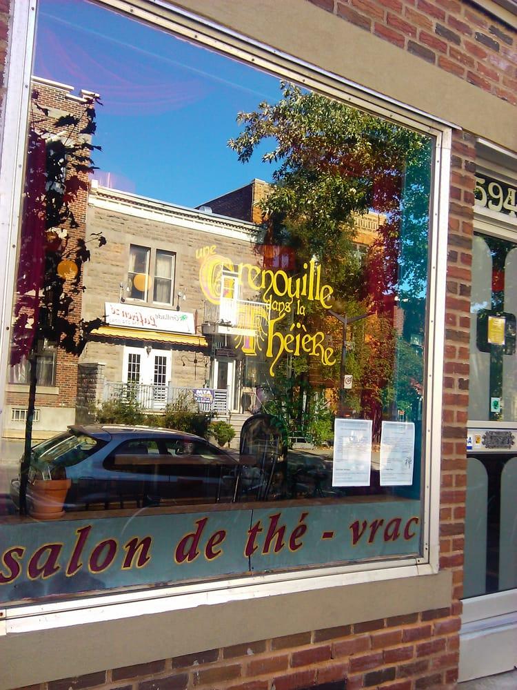 Une grenouille dans la th i re closed cafes 5940 rue for B b la maison st hubert