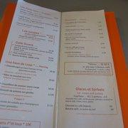 Café Branly - Paris, France. carte page 2 et 3