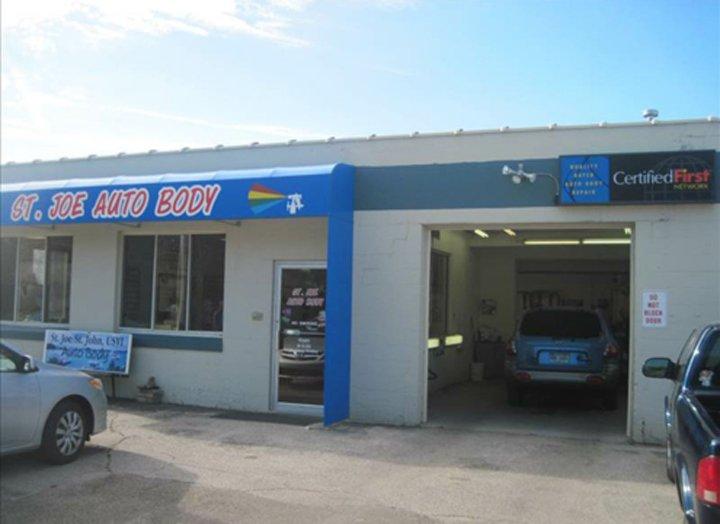 St Joe Auto Body: 820 Highland Ave, St Joseph, MI