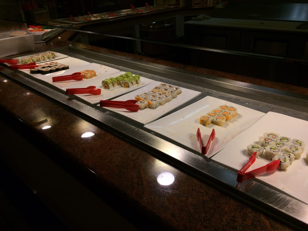 wife likes the sushi tho it changes a little - Yelp