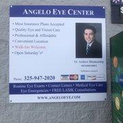 Angelo Eye Center Optometrists 5501 Sherwoodway Blvd San Angelo