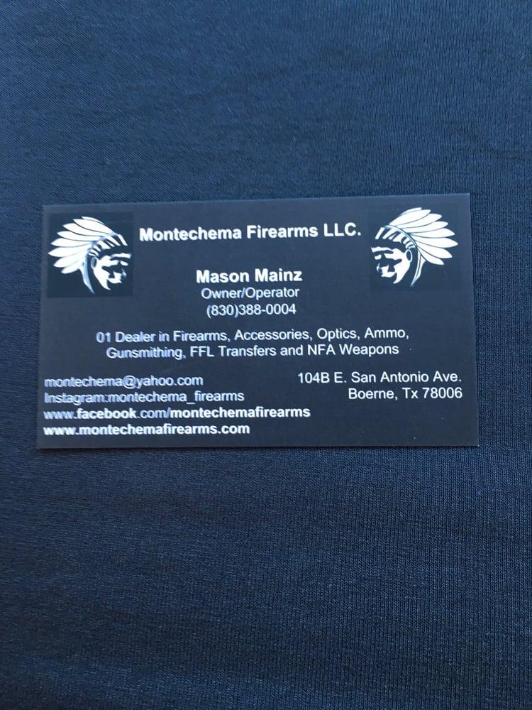 Montechema Firearms - Guns & Ammo - 104 E San Antonio Ave, Boerne ...
