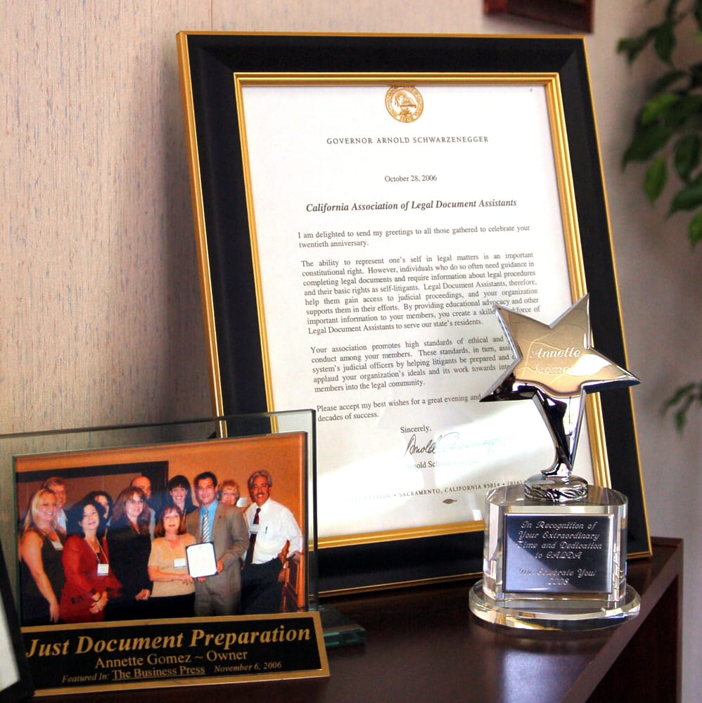 Just Document Preparation Legal Services Central Ave - Legal document preparation business