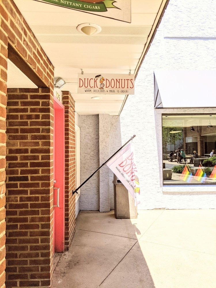 Duck Donuts State College: 125 S Fraser St, State College, PA