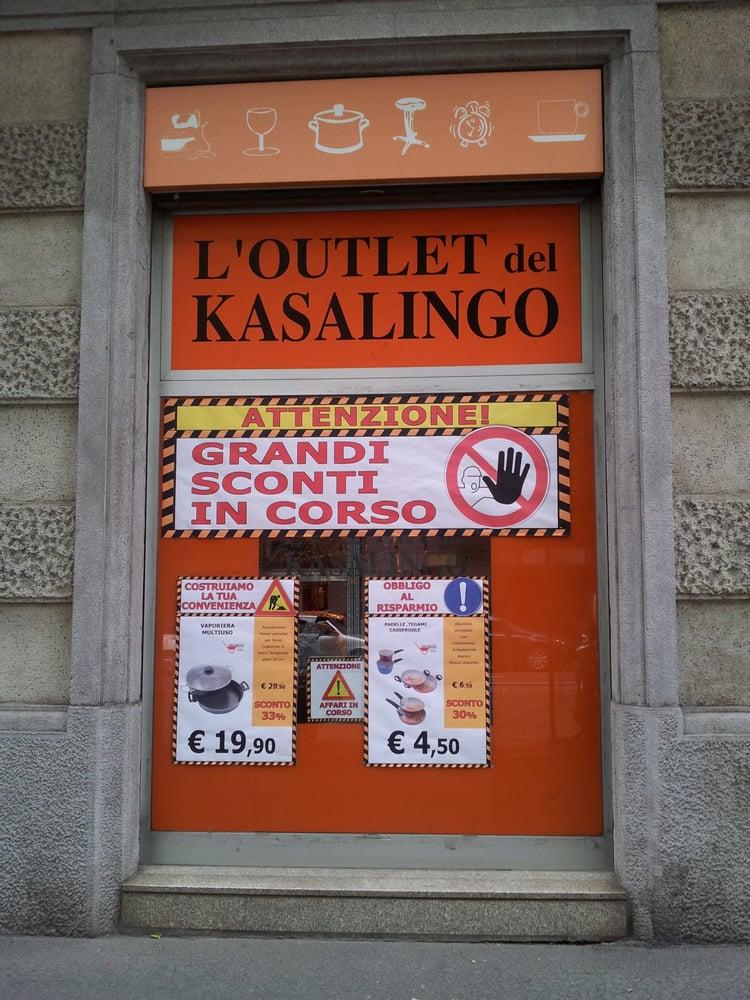 L\'Outlet del Kasalingo - Home & Garden - Corso Lodi 93, Porta ...