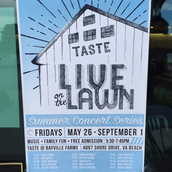 Taste Unlimited Virginia Beach Va
