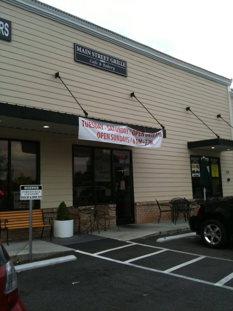 Main Street Grille Cafe Bakery Wake Forest Nc