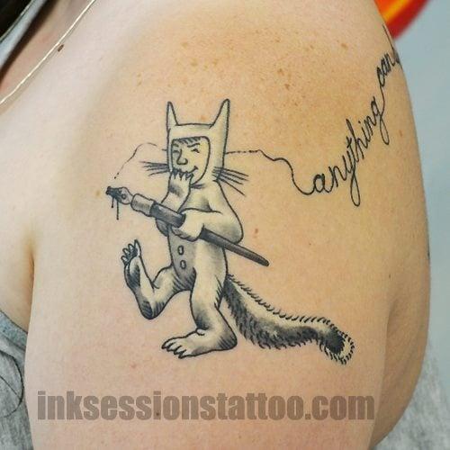 Maurice Sendaks Where The Wild Things Are Max Tattoo Yelp