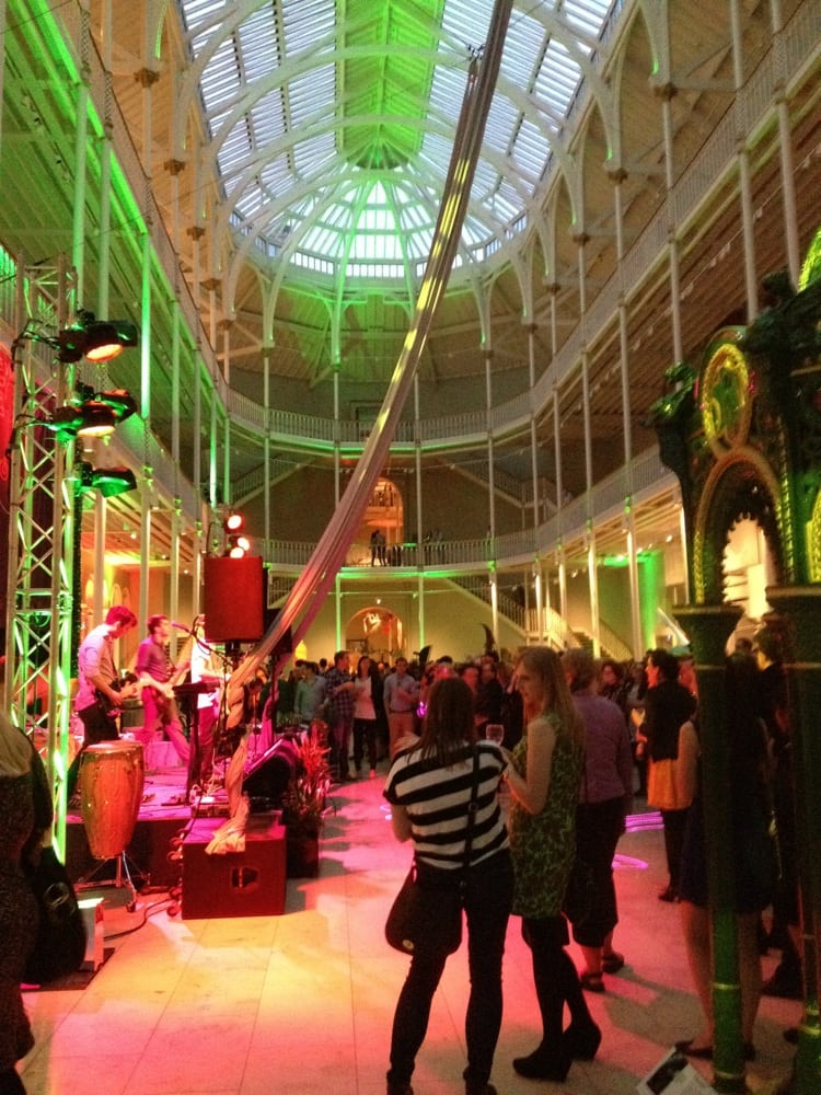 RBS Museum Late Night- National Museum Of Scotland