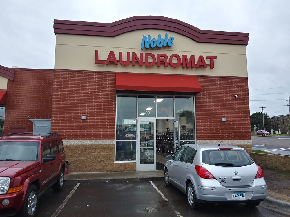 Noble Laundromat: 1681 Rice St, Roseville, MN