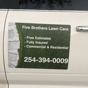 United Photo Of Five Brothers Lawn Care Chimney Sweep Copperas Cove Tx