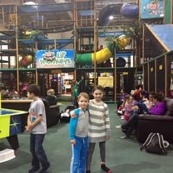 Indoor playgrounds a yelp list by artur j for Ball pits near me