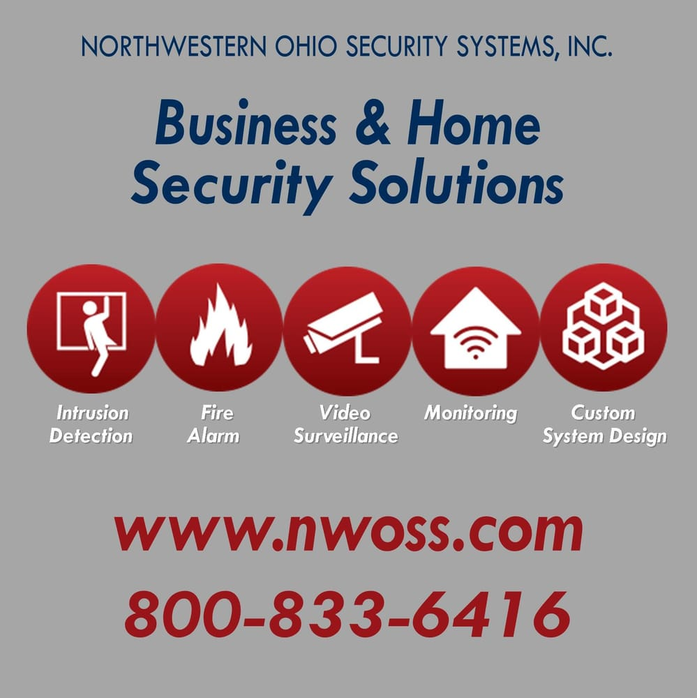 Northwestern Ohio Security Systems Security Systems