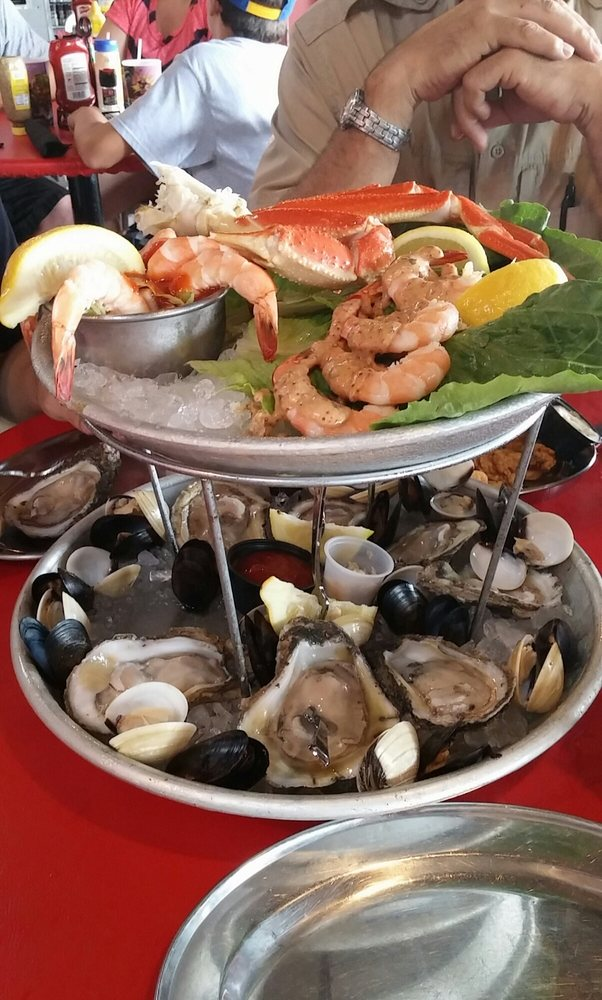 Boiled seafood tower yelp for Crazy fish restaurant