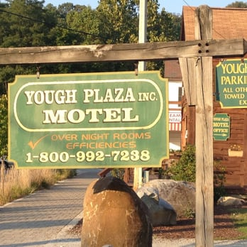 Photo Of Yough Plaza Motel Ohiopyle Pa United States Main Sign