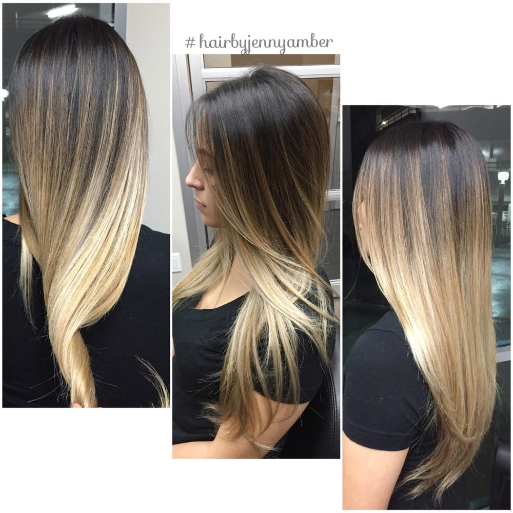 Color Melting At Its Finest Flawless Balayage Ombr 233 Yelp