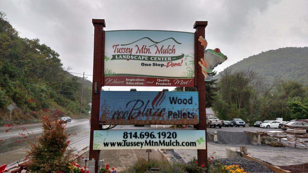 Tussey Mountain Mulch Landscape Center: 8599 Woodbury Pike, Hollidaysburg, PA