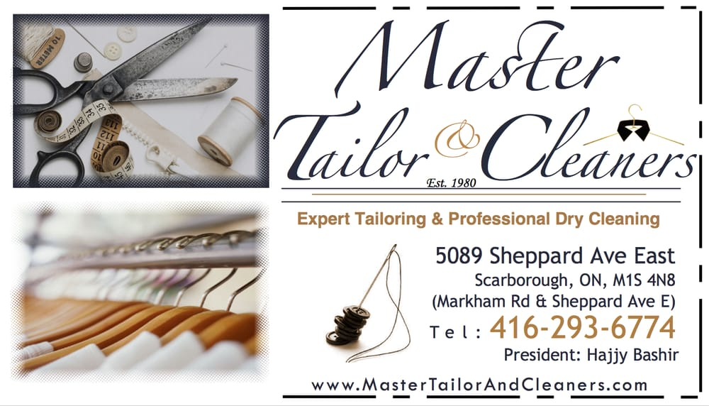 Master Tailor & Cleaners