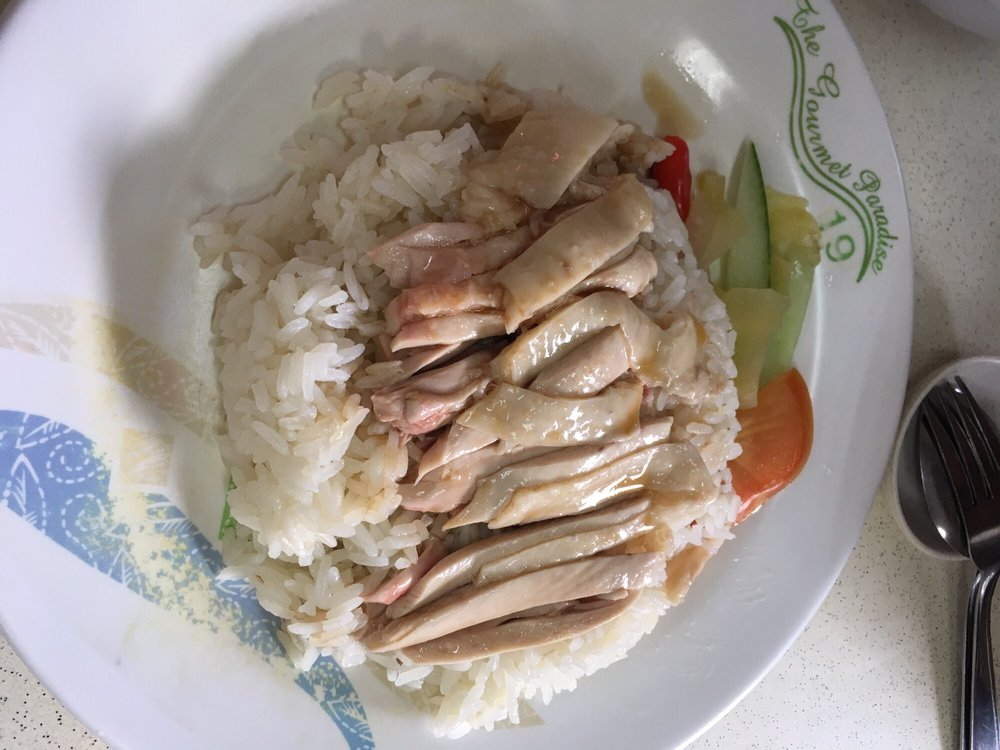 Tiong Bahru Hainanese Boneless Chicken Rice & Curry Rice Singapore