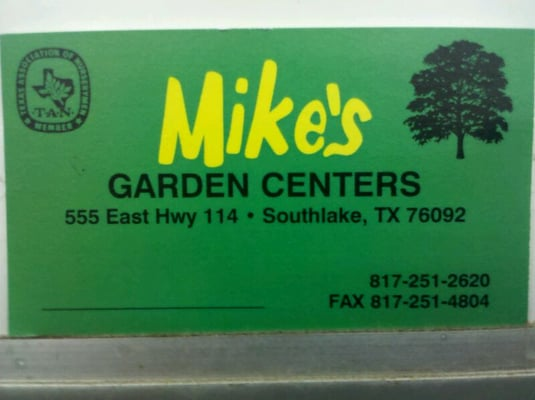 Mike S Garden Centers 555 E State Highway 114 Southlake Tx Nurseries Mapquest