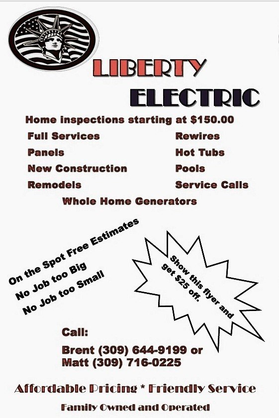 Liberty electric: 2421 14th Ave, Moline, IL