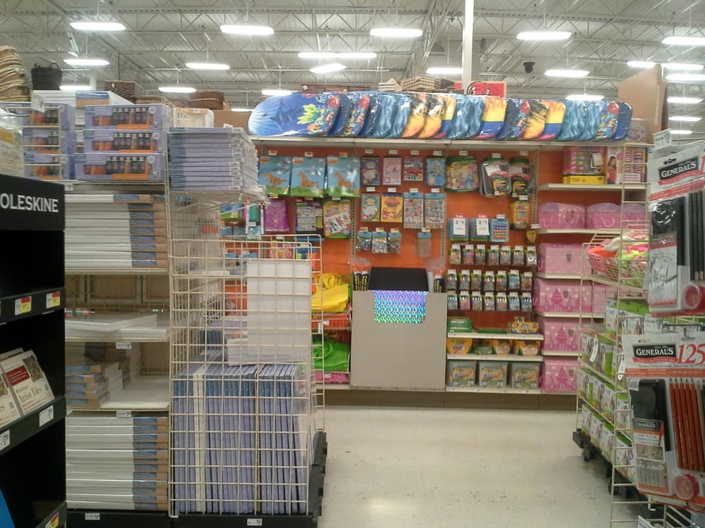 Inside Michaels The Arts And Crafts Store Fremont Hub Shopping