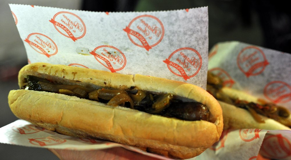 Artie's Famous Sausage: 34 Yawkey Way, Boston, MA