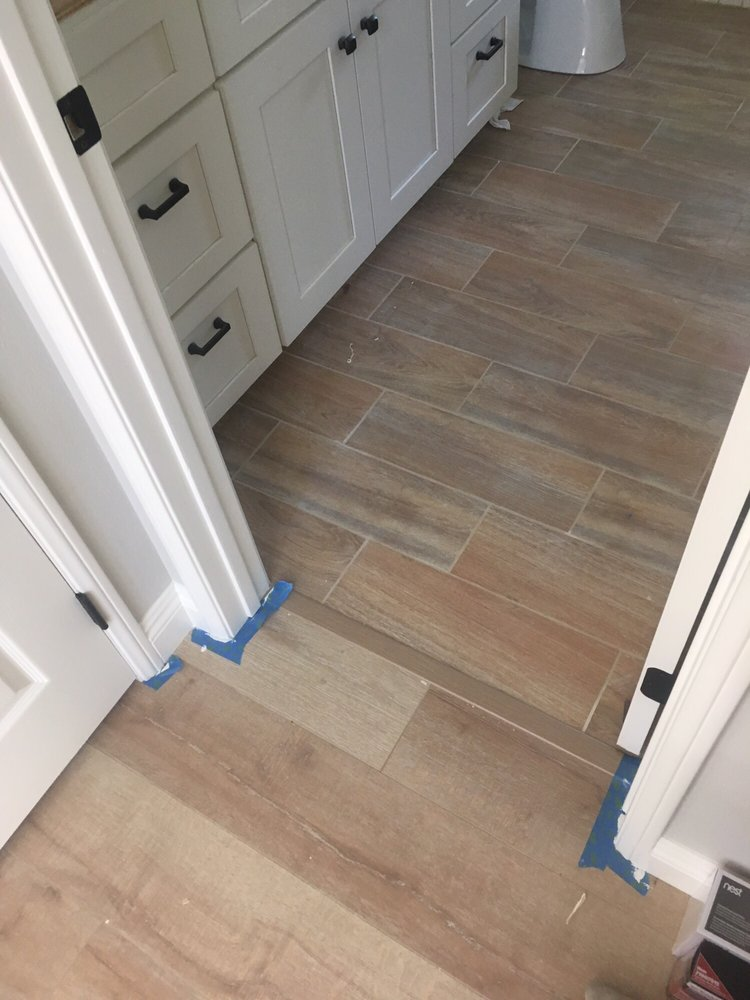 floor and decor santa ana laminate with coordinating wood look tile yelp 23709