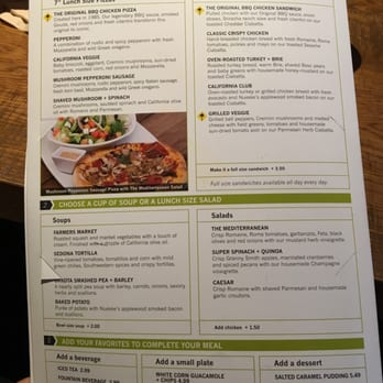 California Pizza Kitchen Order Food Online 362 Photos 288 Reviews Pizza 1735 Arden Way