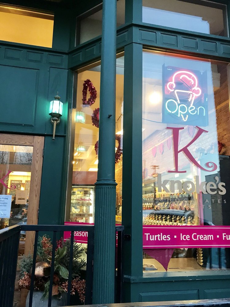 Knoke's Chocolates And Nuts: 220 Locust St, Hudson, WI