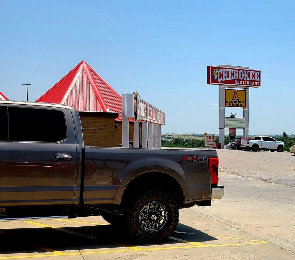Cherokee Travel Mart: 245 S Walbaum Rd, Calumet, OK