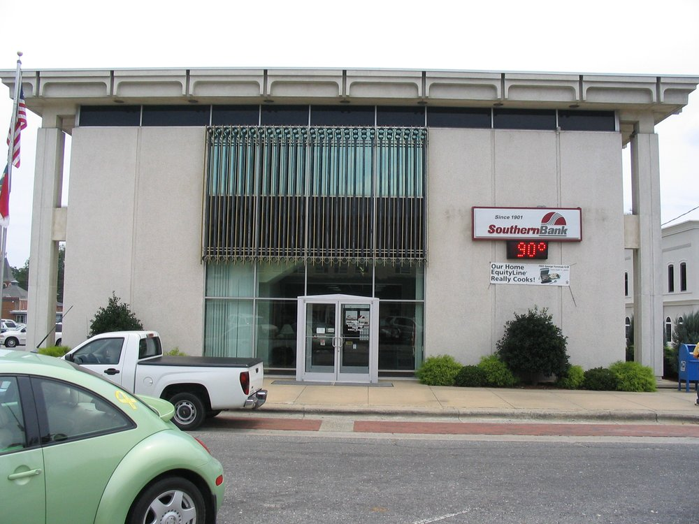 Southern Bank: 100 NE Center St, Mount Olive, NC