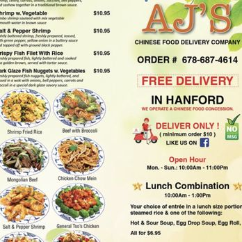 Ajs Chinese Food Delivery Company Closed 16 Photos 10 Reviews