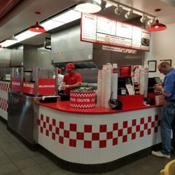 Photo Of Five Guys   Bay Shore, NY, United States. Lots Of Choices