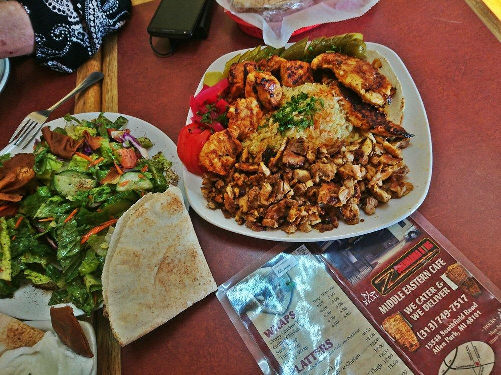 Z Shawarma King: 15548 Southfield Rd, Allen Park, MI