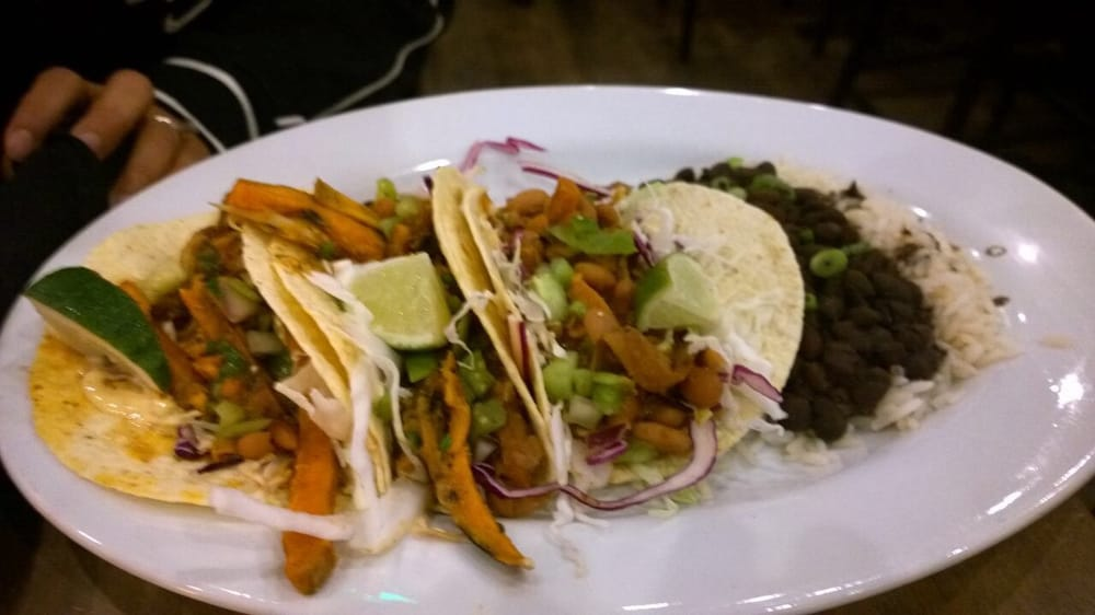 Yummy Grilled Sweet Potato Soft Tacos Yelp