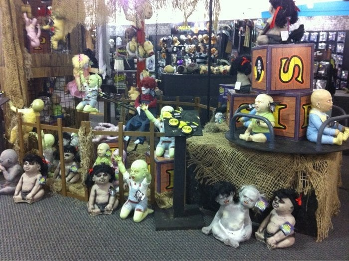 photo of spirit halloween store san diego ca united states zombie babies