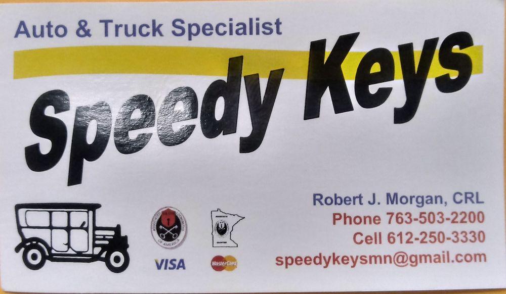 Speedy Keys: Brooklyn Park, MN