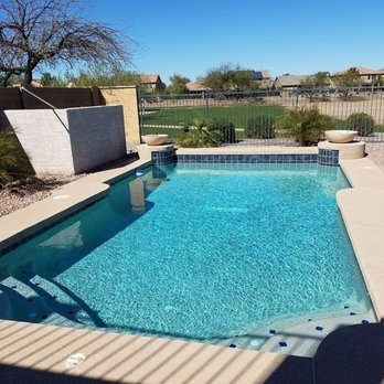 Barefoot pools pool service repair 103 photos 108 for Pool resurfacing phoenix az