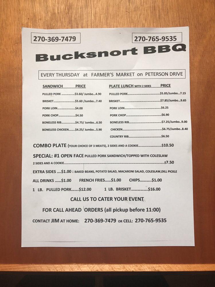 Bucksnort BBQ: 100-198 Peterson Dr, Elizabethtown, KY