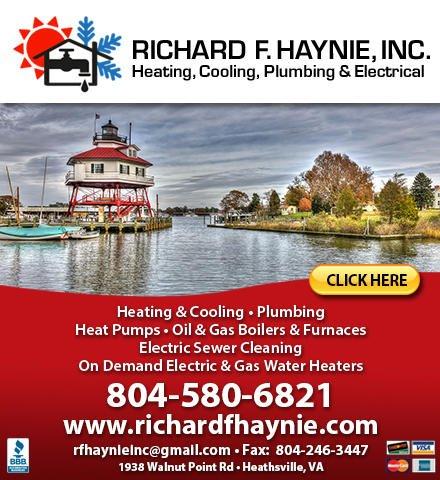 Richard F Haynie: 1938 Walnut Point Rd, Heathsville, VA