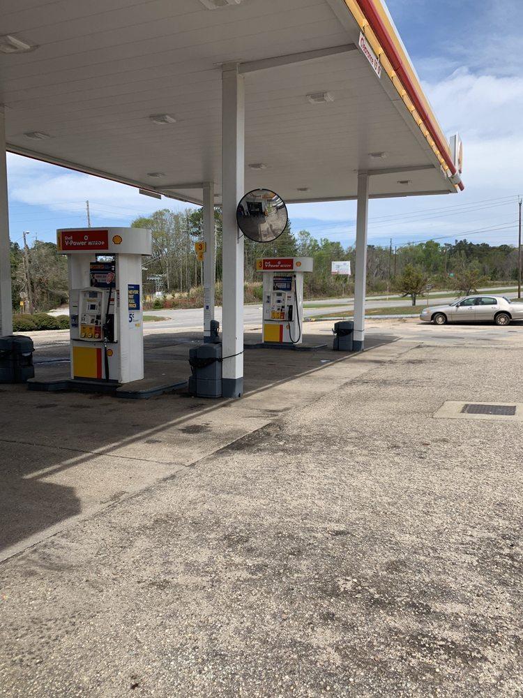 Shell Gasoline: 2715 College Ave, Jackson, AL