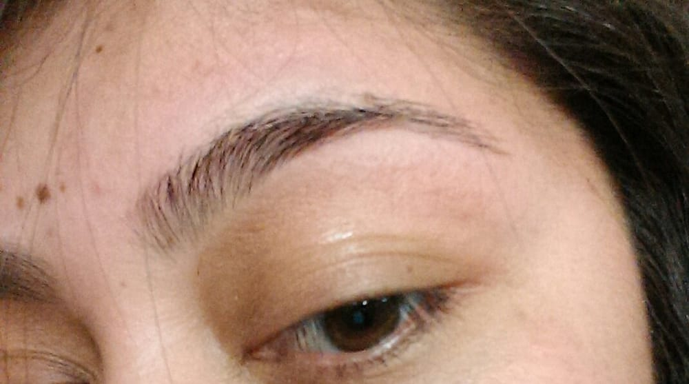 First Time Getting My Eyebrows Done With String Only 5 Cant Be