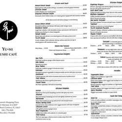 Yu Mi Sushi Japanese Restaurant Palm Beach Gardens Fl
